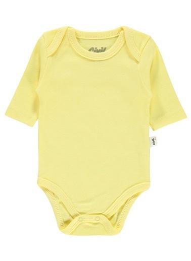 Civil Baby Civil Baby Bebek Çitçitli Badi 0-24 Ay Sari Civil Baby Bebek Çitçitli Badi 0-24 Ay Sari Sarı